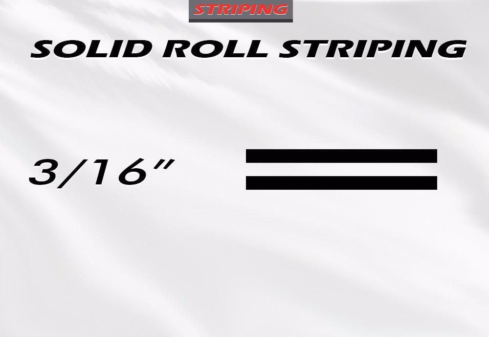 "3/16"" x 150ft Pin Stripe Roll Accent Pinstriping 