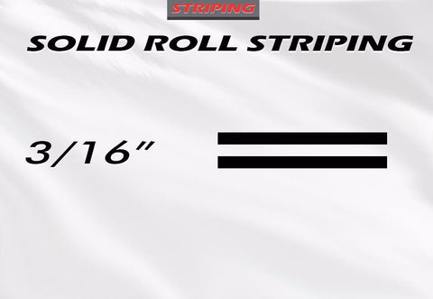 "3/16"" x 150ft Pin Striping Accent Roll 