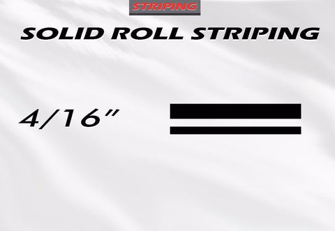 "4/16"" x 150ft Pin Stripe Roll Accent Pinstriping 