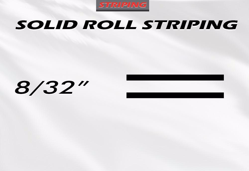 "8/32"" x 150ft Pin Stripe Roll Accent Pinstriping 