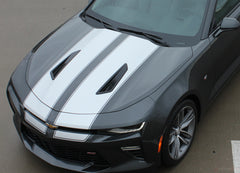 2016 2017 2018 Chevy Camaro Cam-Sport Pin Striping Outline OEM Factory Style Hood Rally Decals 3M Racing Stripes Kit fits SS RS V6
