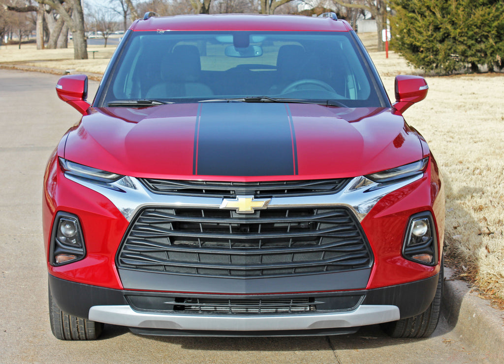 2019-2020 Chevy Blazer HOTSTREAK Hood Stripes Hood Decals 3M Vinyl Graphics Kit
