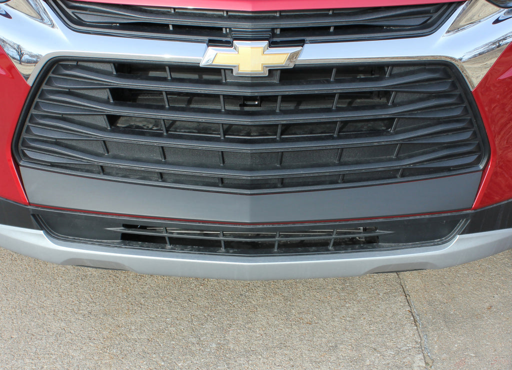 2019-2021 Chevy Blazer ERASER Bumper Decal Front Bumper Stripe 3M Vinyl Graphics Kit