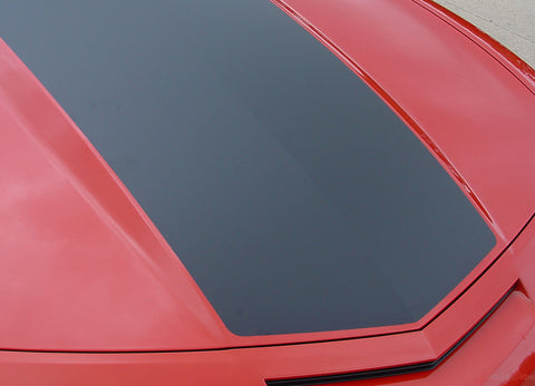 2010-2013 and 2014-2015 Chevy Camaro Single Stripe Wide Center Hood and Trunk Vinyl Rally 3M Kit SS LS LT Models