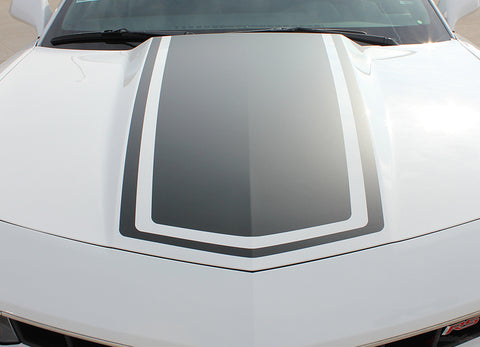 2014-2015 Chevy Camaro Bee 3 Bumblebee Center Wide Rally Racing Stripes 3M Kit