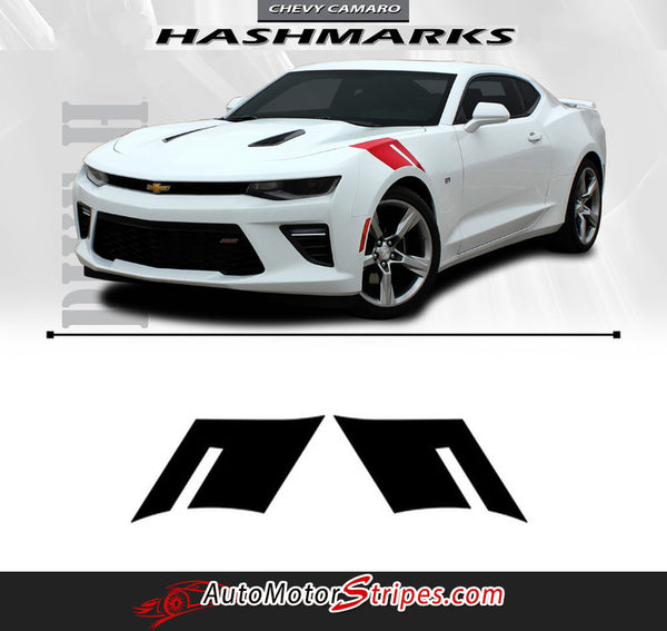 2018 2017 2016 Chevy Camaro Hood Stripes Decals Graphics
