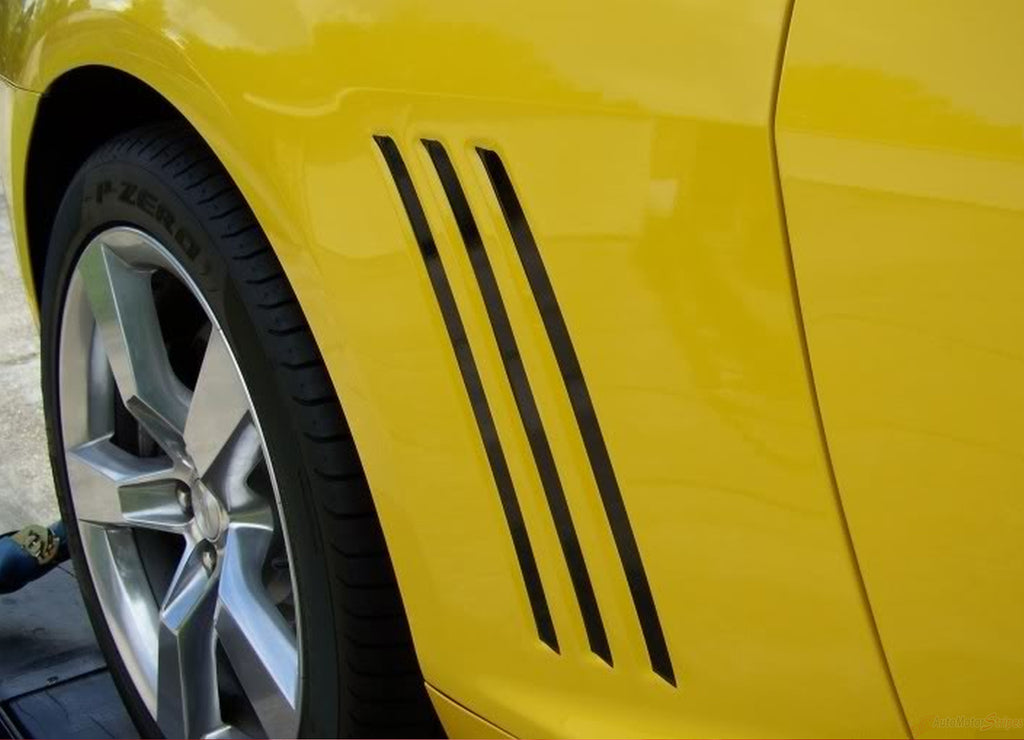 2010-2015 Chevy Camaro Gill Stripes Vent Vinyl Graphics 3M SS RS LS LT Models