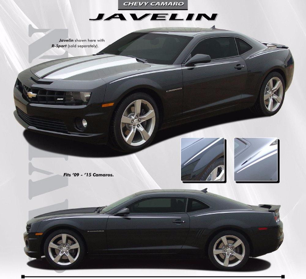 2010-2013 and 2014-2015 Chevy Camaro Javelin Side Pin Stripes Vinyl Graphics Kit