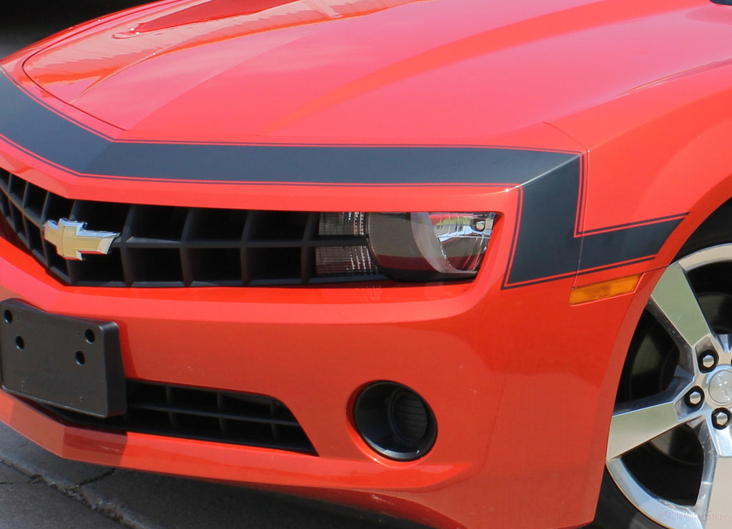 2010-2013 Chevy Camaro Vintage SS RS Retro Style 3M Vinyl Stripes Kit