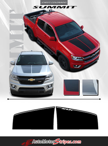 2015 2016 2017 2018 Chevy Colorado Summit Hood Racing