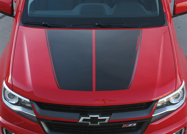 2015 2018 2019 Chevy Colorado Hood Graphic Summit Racing