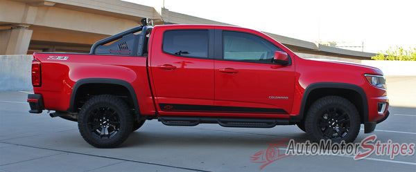2015 2016 2017 Chevy Colorado RAMPART Lower Rocker Panel ...