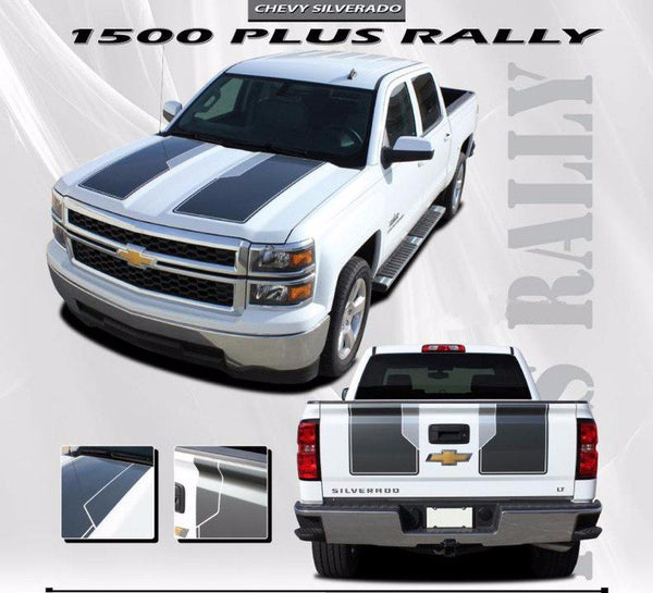 2014 2015 Chevy Silverado 1500 Rally Plus Hood Racing