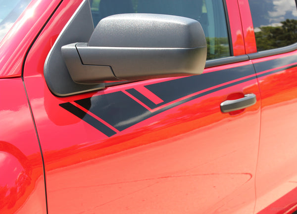2014 2018 Chevy Silverado Stripes Breaker Truck Side Door