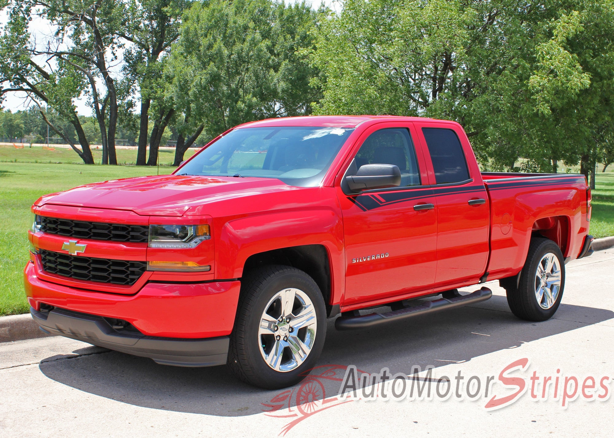 2014 2017 chevy silverado breaker special edition rally truck upper bo auto motor stripes. Black Bedroom Furniture Sets. Home Design Ideas