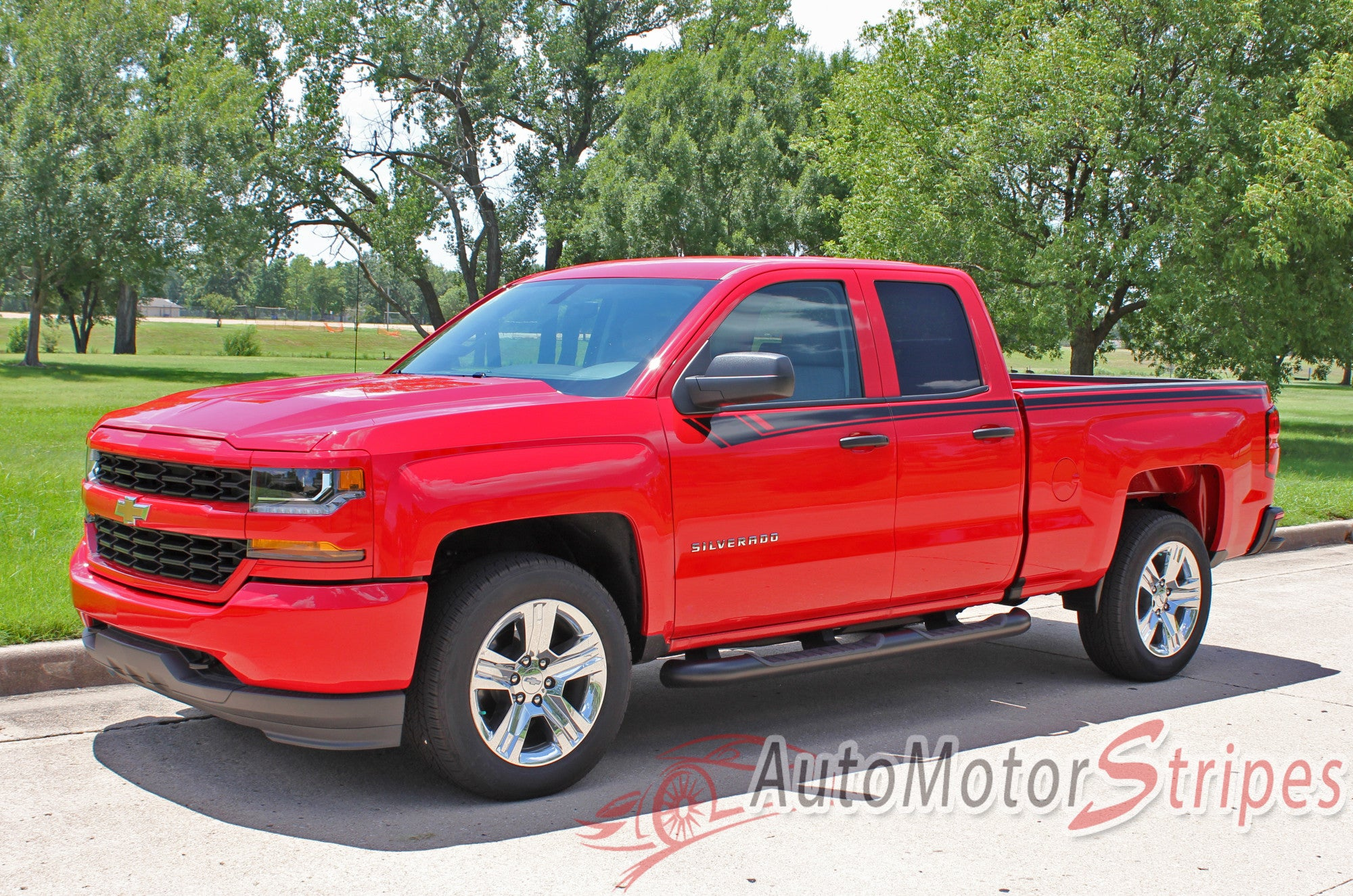 2014 2018 chevy silverado stripes breaker truck side door pin striping auto motor stripes. Black Bedroom Furniture Sets. Home Design Ideas