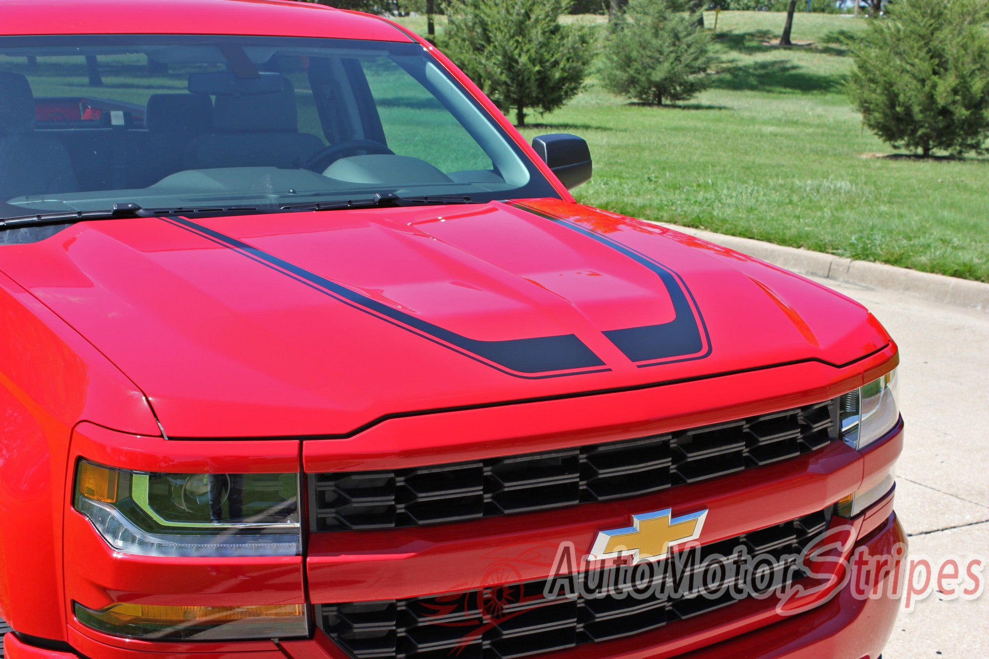 Chevy Silverado Door Stripes Flow Special Edition Truck - Chevy windshield decals trucks