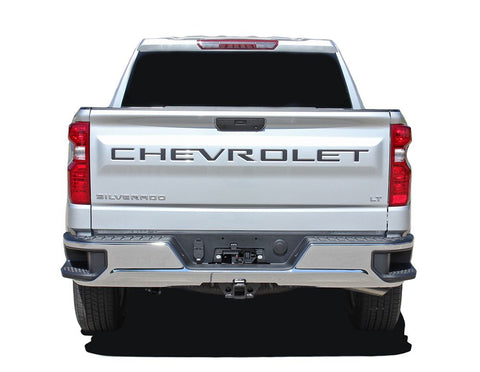 2019 2020 2021 Chevy Silverado Name Insert Decal Letters for Rear Tailgate 3M Vinyl Graphics Kit