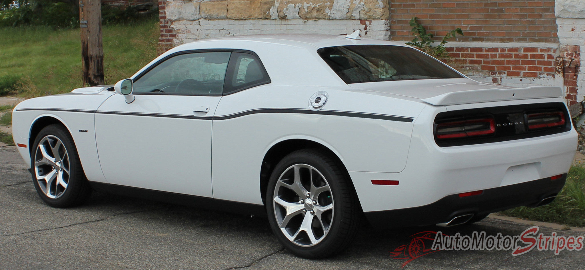 2011 2017 Dodge Challenger Sxt Side Stripe Factory Mopar