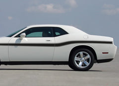 2008-2021 Dodge Challenger Beltline Mid Body Door Accent Mopar Style Vinyl Graphics 3M Decals Package