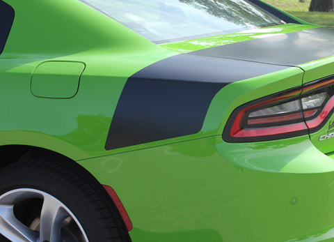 2015 2016 2017 2018 2019 2020 2021 Dodge Charger Tailband Daytona Hemi Vinyl Decklid Trunk Rally Stripes 3M Graphic Decal R/T SRT 392 Hellcat Mopar Kit - Details