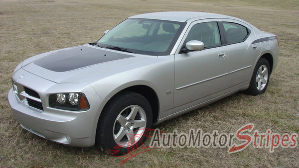 2006 2010 Dodge Charger Stripes Hood Decals Chargin 2