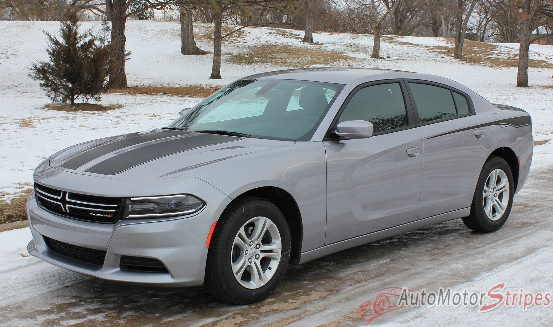 2015 2016 2017 dodge charger recharge 2 combo hood and door sides factory style vinyl graphics