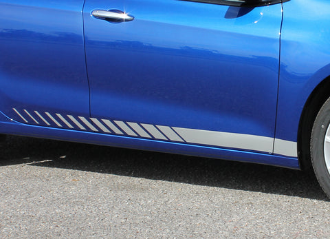 2013-2016 Dodge Dart Dash Mopar Style Side Door Lower Rocker Panel Vinyl Graphics 3M Stripes