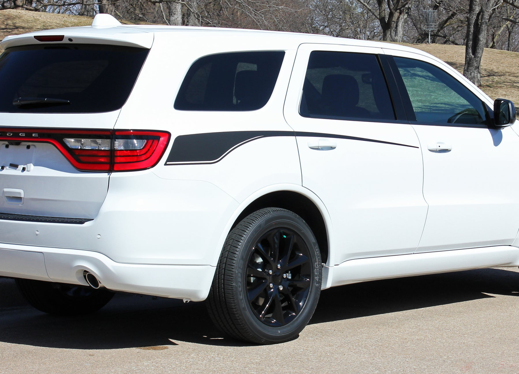 2011 2021 Dodge Durango Side Door Stripes Vinyl Graphic Suv Decals Auto Motor Stripes Decals Vinyl Graphics And 3m Striping Kits
