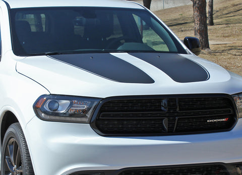 2011-2018 2019 2020 Dodge Durango Hood Stripes Propel SUV Vinyl Graphic 3M Decals Package