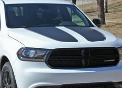 2011-2018 2019 2020 2021 Dodge Durango Hood Stripes Propel SUV Vinyl Graphic 3M Decals Package
