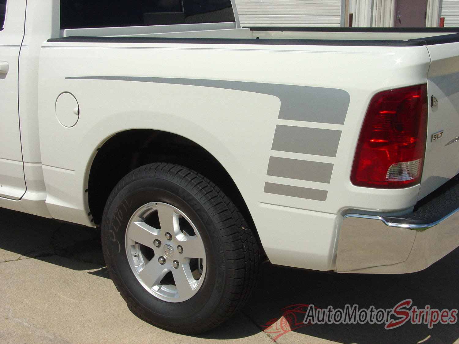 Dodge Ram Hood Decals Power Truck Rear Side Strobes - Truck bed decals custombody graphicsdodge ram
