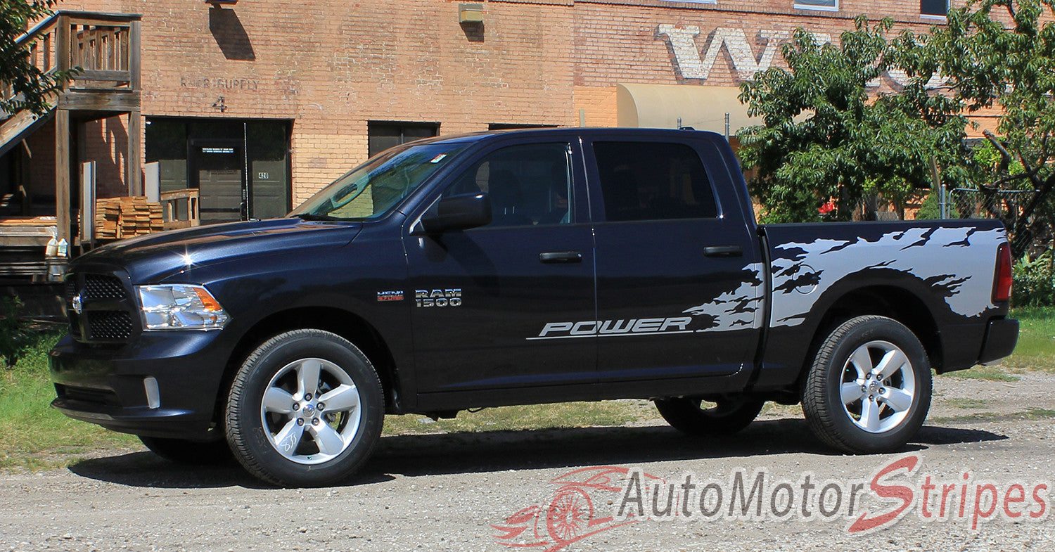 Power Wagon Stickers New Car Release Date 2019 2020 1964 Dodge Crew Cab 2009 2018 Ram Bed Graphics Rage Multi Color Digital