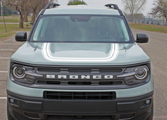 2021 2022 2023 Ford Bronco Sport REVIVE Retro Hood Stripes Accent Decals Vinyl Graphics Kits 3M