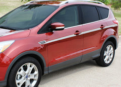 2013-2017 Ford Escape Outbreak Mid Door Body Accent Line 3M Vinyl Decal Graphic Stripes