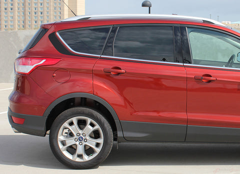 2013-2017 Ford Escape Runaround Upper Body Line Door 3M Vinyl Decal Graphic Stripes