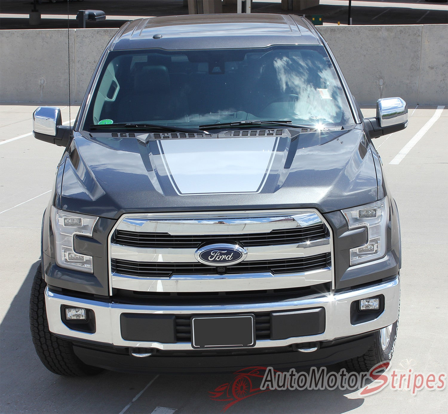 2009 2018 Ford F 150 Decals Force Hood Vinyl Graphic