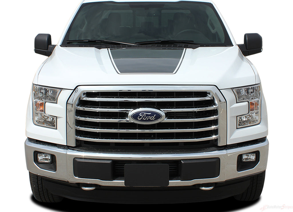 2015-2019 Ford F-150 Force Hood Factory Style Vinyl Decal Graphic Stripes