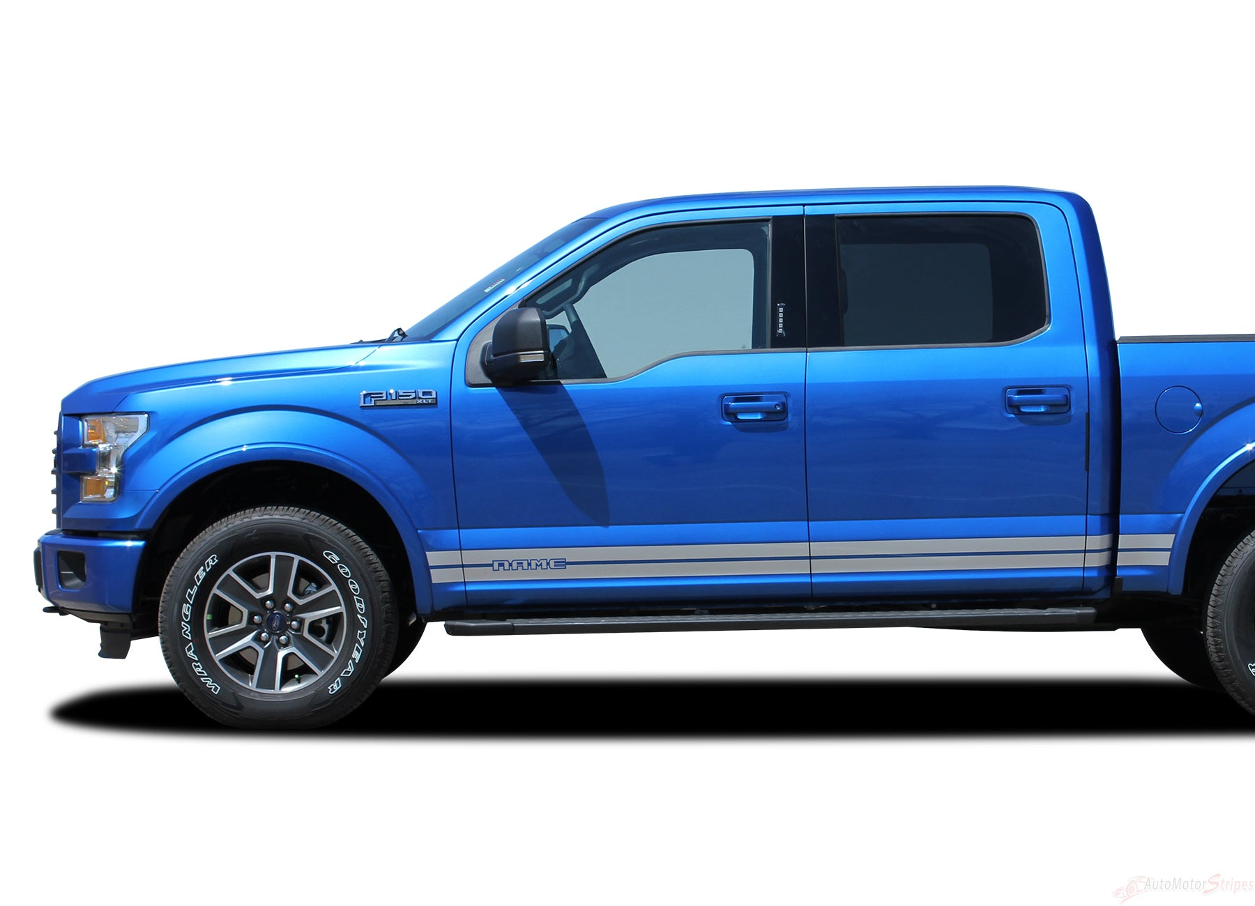 2015 2016 2017 2018 2019 ford f 150 rocker one lower rocker stripes vinyl decal