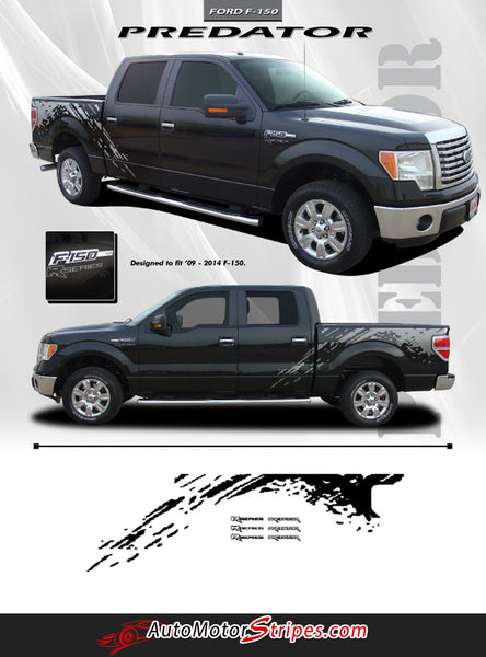2009 2014 Ford F 150 Predator Factory Style Bed Raptor