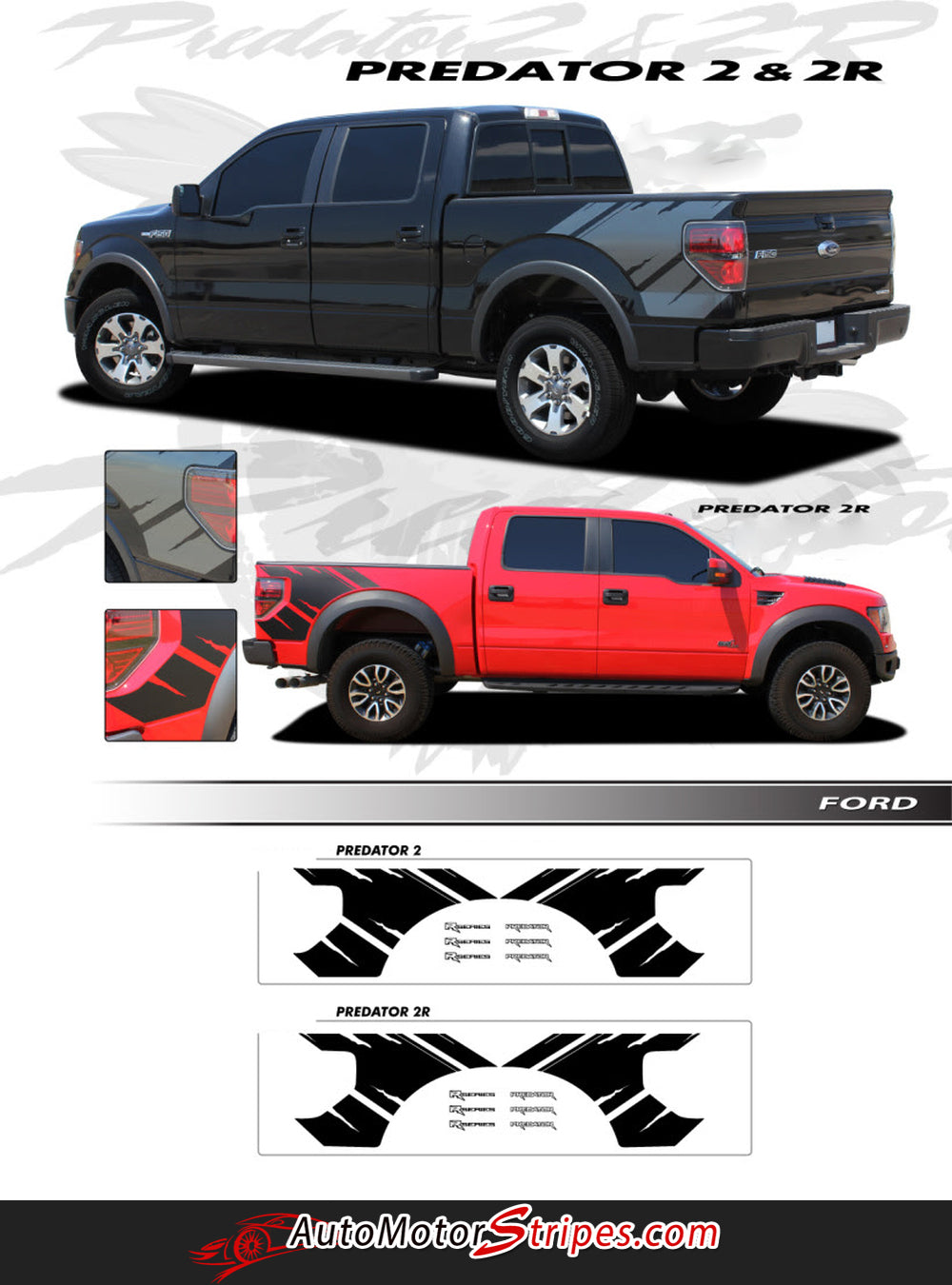 2009 2014 ford f 150 predator 2 factory raptor style bed for Bedding styles 2014