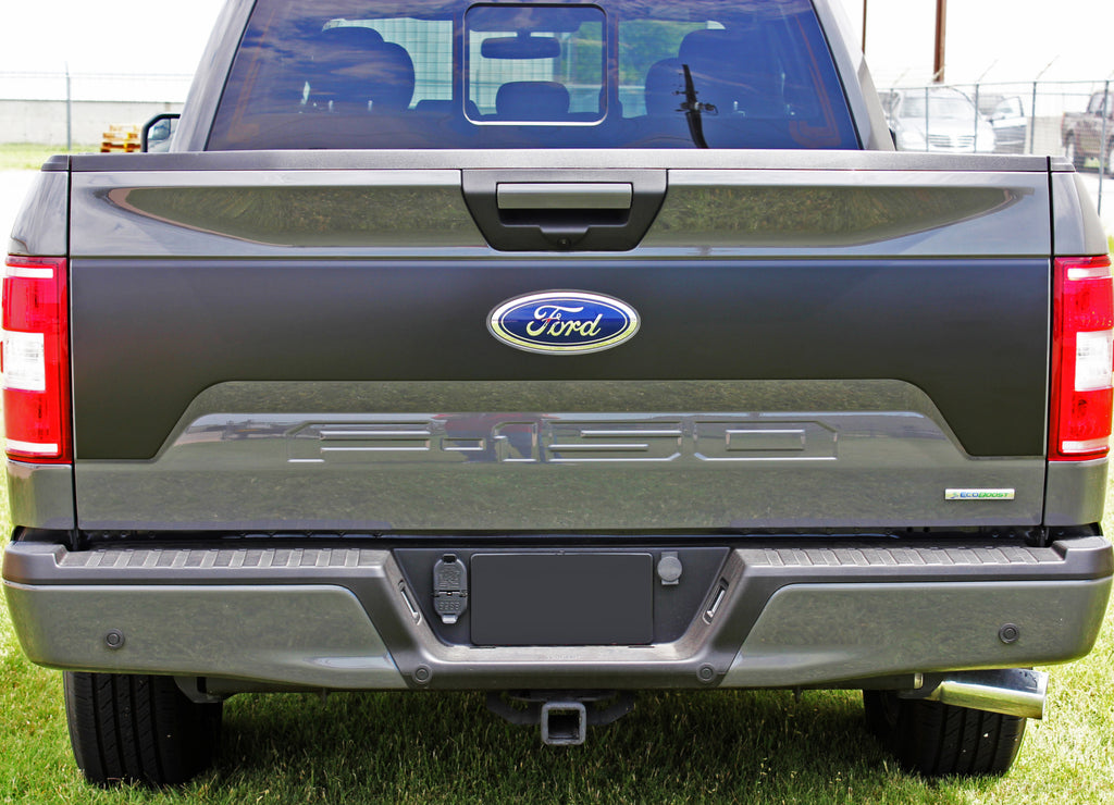 2015-2020 Ford F-150 Route Tailgate Blackout Vinyl Decal 3M Graphic Stripes