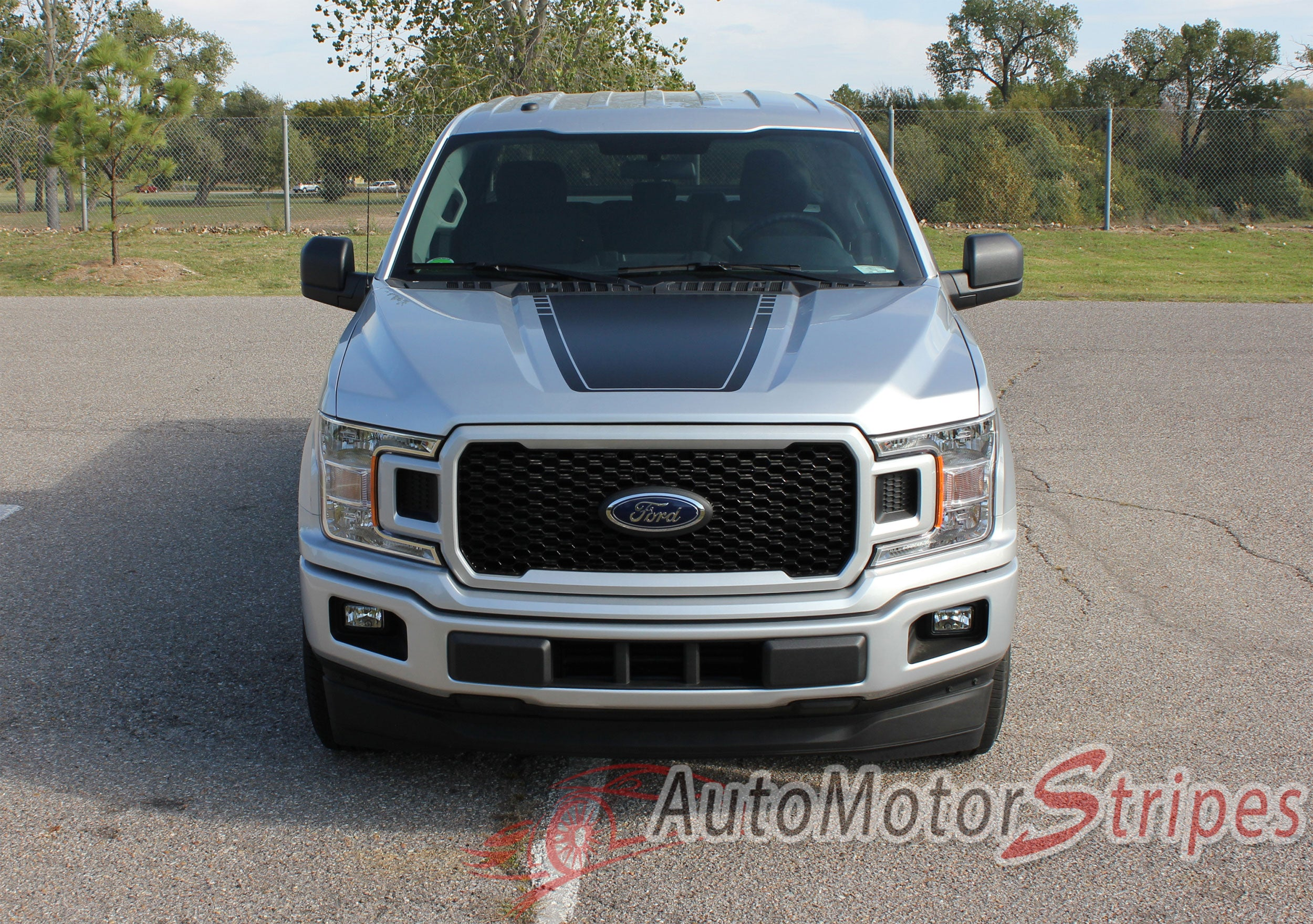 2015 2019 Ford F 150 Decals Sw Lead Foot Hood Stripes Graphics