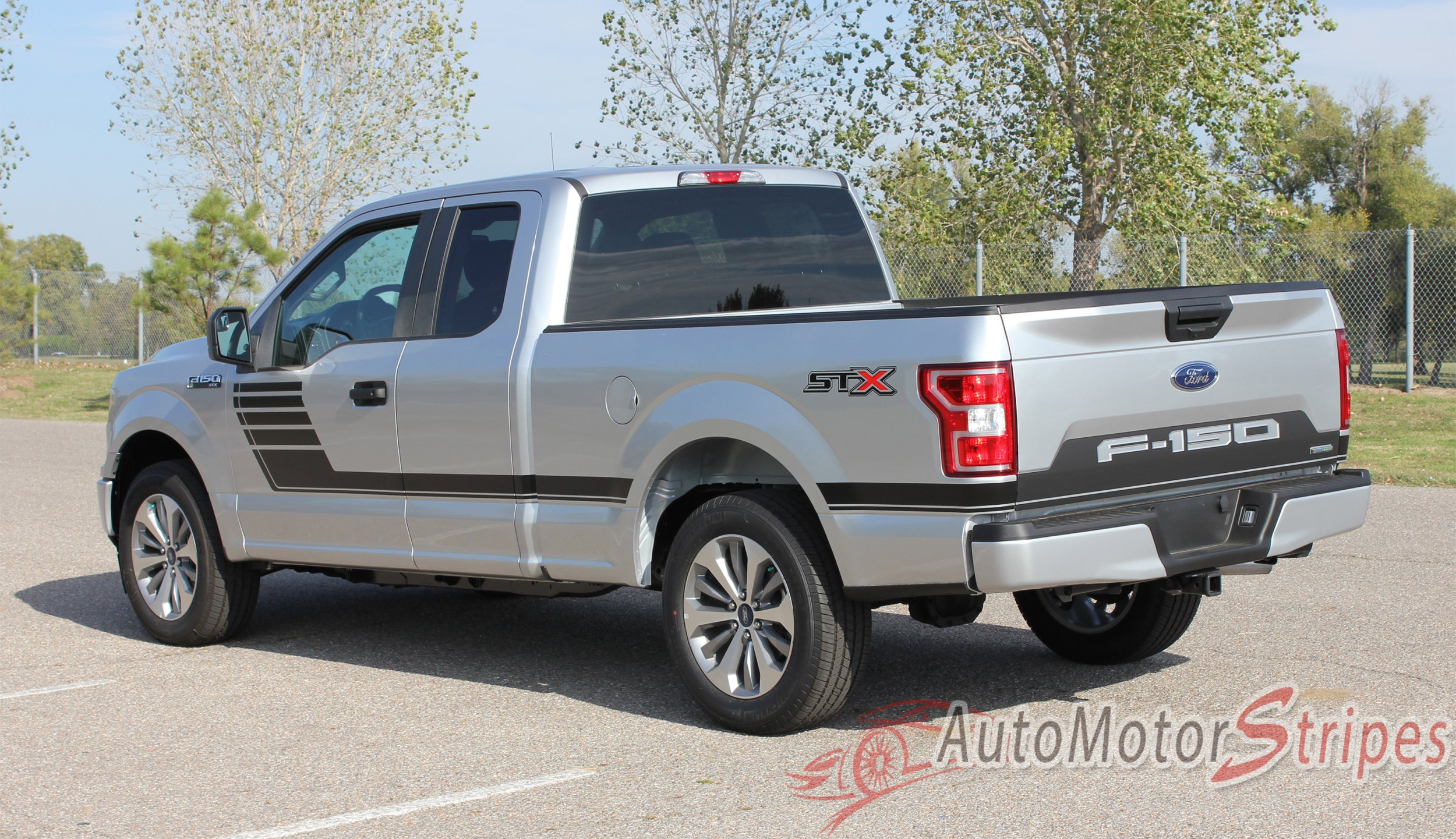 2018 2019 Ford F 150 Decals Sw Lead Tailgate Blackout Stripes