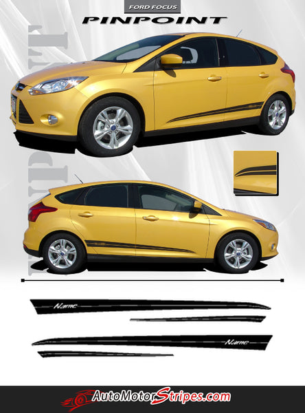 2012 2017 Ford Focus Pinpoint Side Lower Door Accent Vinyl