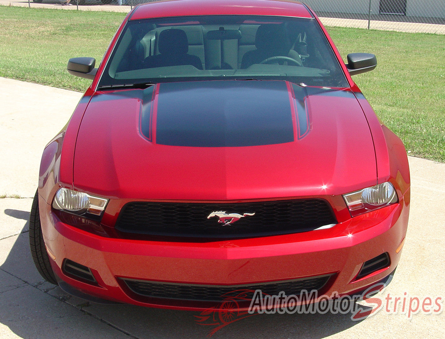 2010 2012 Ford Mustang Hood Stripes Door Decals Boss 302
