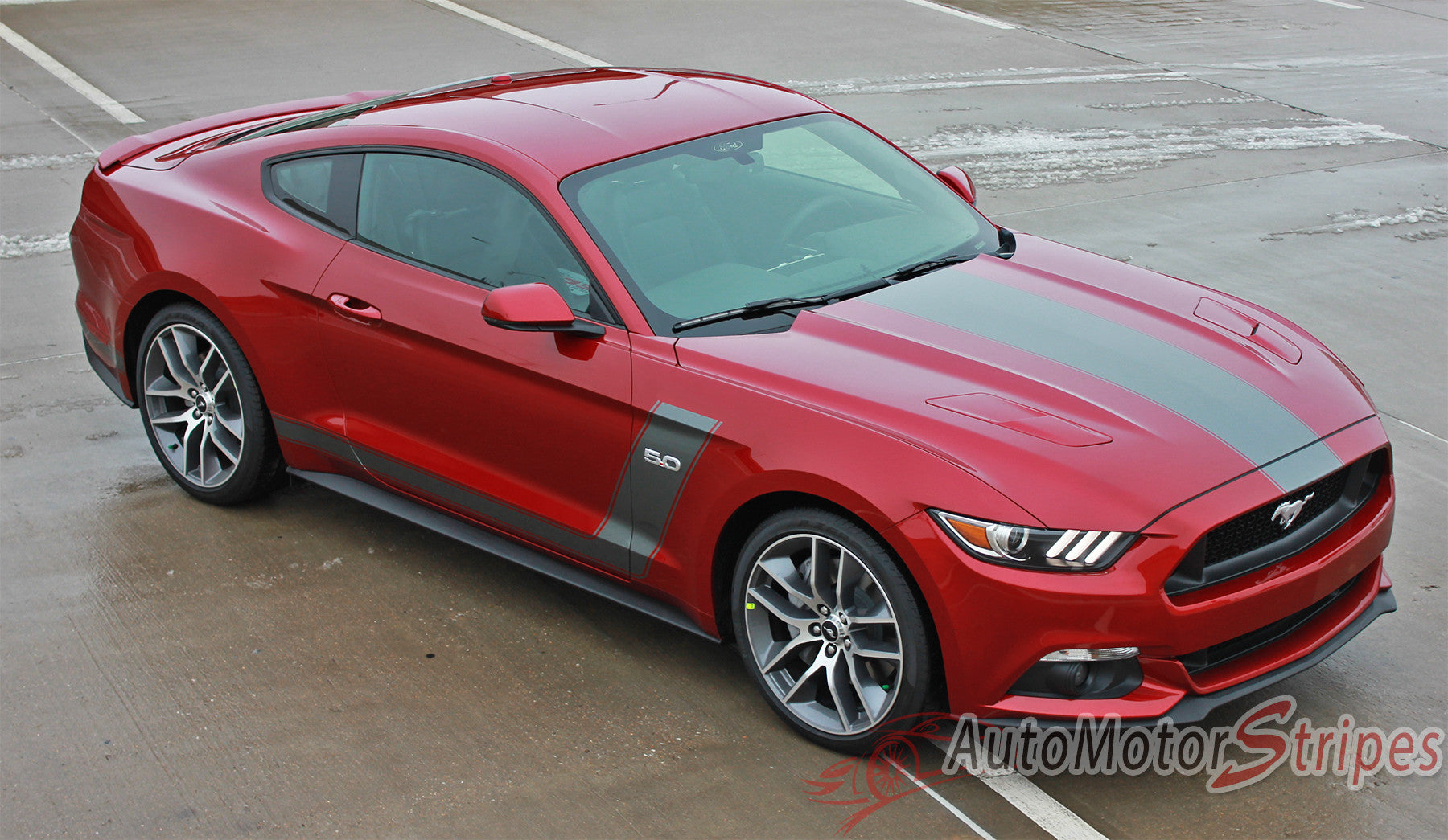 Ford Mustang Vinyl Graphics Decals Stripes Kits Packages for 2009 2010 2011 2012 2013 2014 2015 2016 2017