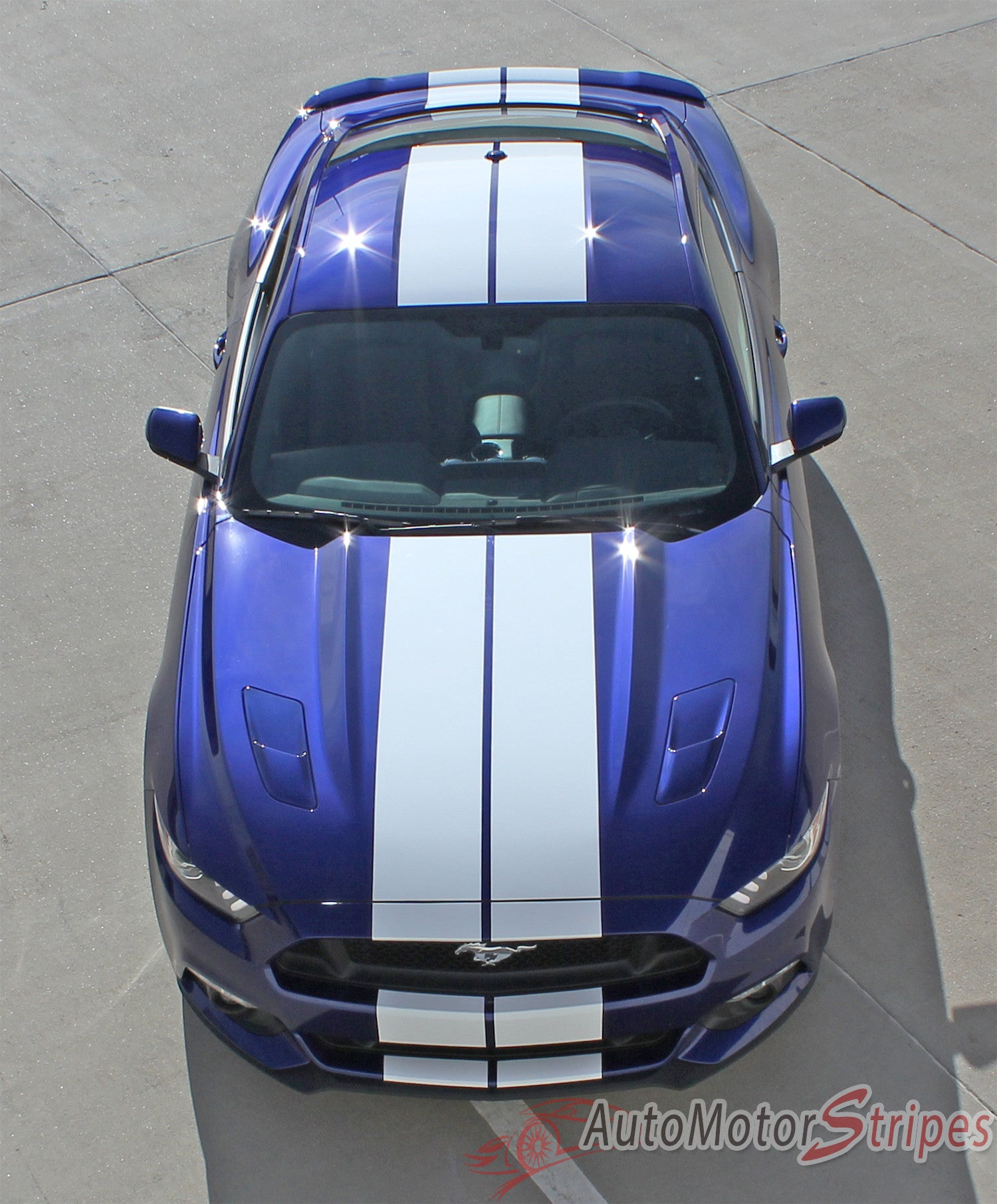 ford mustang top view. 2015 2016 2017 ford mustang stallion 10\ top view