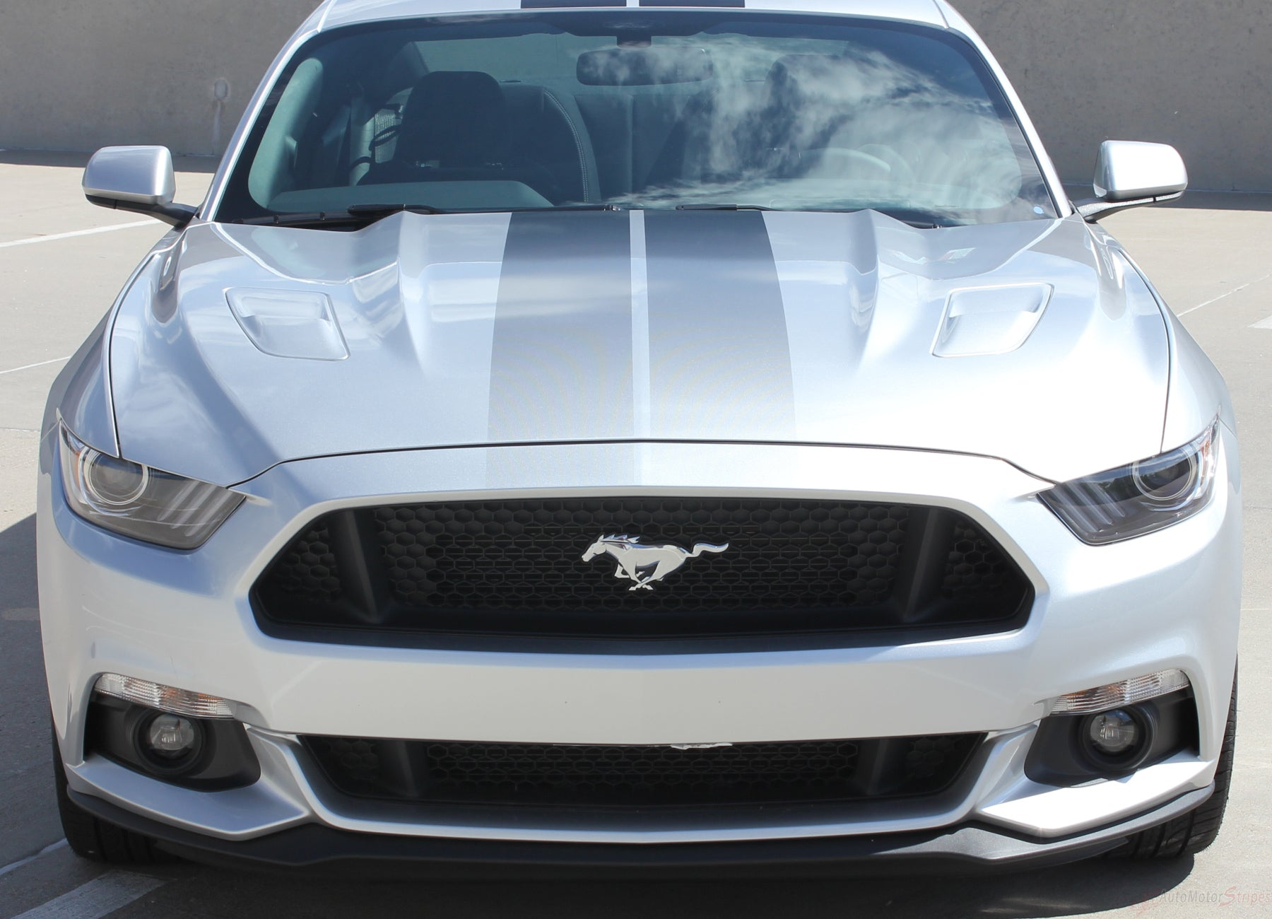 2015 2017 Ford Mustang Digital Fade Faded Rally Racing