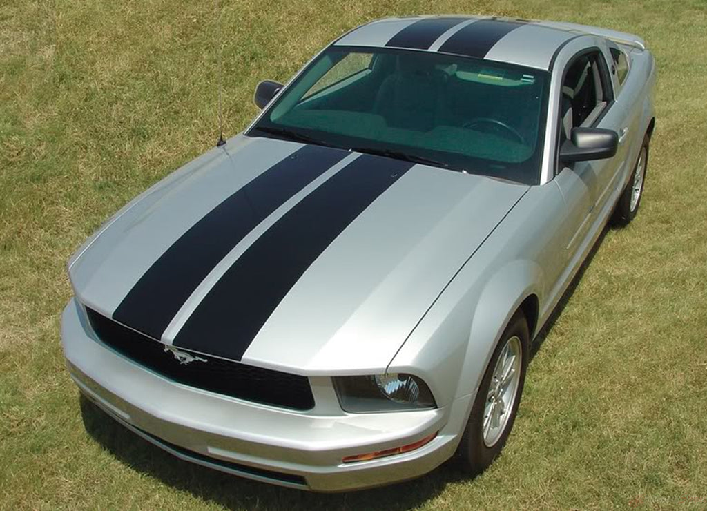 2005 - 2009 Ford Mustang Wildstang Racing and Rally Stripes Vinyl 3M Decal Graphics